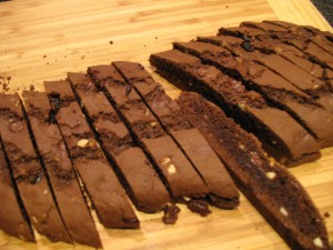 Double Batch Double Chocolate Biscotti With Cherries And
