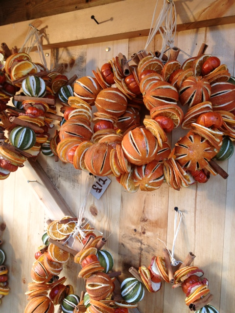 Dried Fruit Wreaths in London
