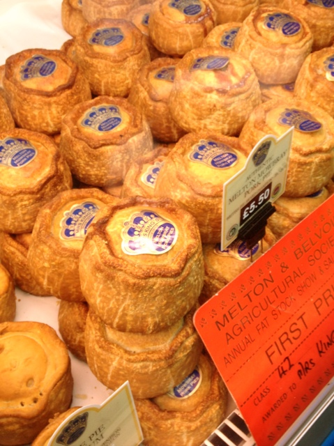 Pork Pies at the Borough Market in London