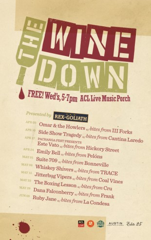 ACL Live Wine Down Wednesday