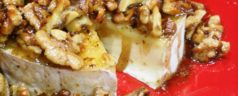 12 Days of Easy Appetizers: Brie with Honeyed Walnuts