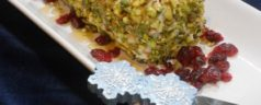 12 Days of Easy Appetizers: Pistachio-Crusted Goat Cheese