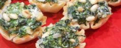 12 Days of Easy Appetizers: Spinach Fillo Cups