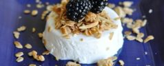 Ideas for a Menu for Brunch: Easy Make-Ahead Lavender-Vanilla Greek Yogurt Panna Cotta