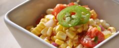 Farmers Market Inspirations: Spicy Corn and Tomato Salad