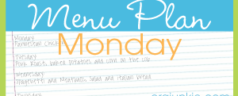 Menu Plan Monday ~ Week of January 2, 2012