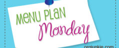 Menu Plan Monday ~ Week of March 21, 2011